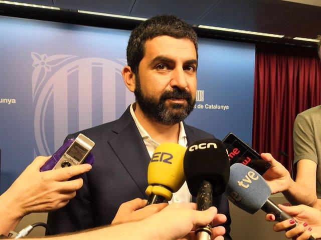 El conseller de Trabajo, Asuntos Sociales y Familias, Chakir el Homrani