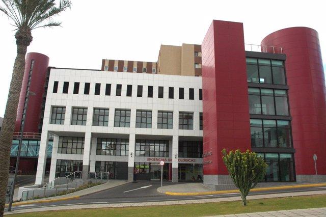 Exterior del Hospital Universitario Materno Infantil de Canarias