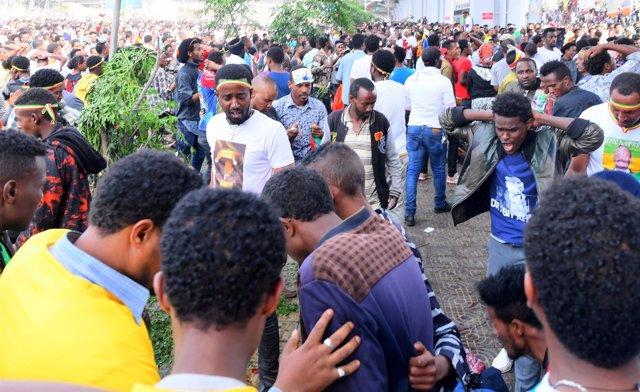 Atentado en Etiopía, 23 de junio de 2018
