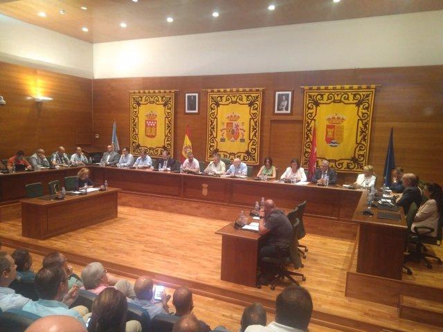 Cs mantiene el Ayuntamiento de Arroyomolinos tras la investidura de Andrés Martínez como nuevo alcalde