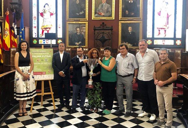 Presentación VI Trofeo Ciutat de Palma fútbol sala