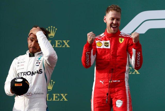 Vettel vuelve a ganar a Hamilton