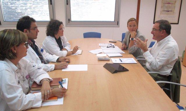 Reunión Gerente Sespa Y Área Sanitaria I