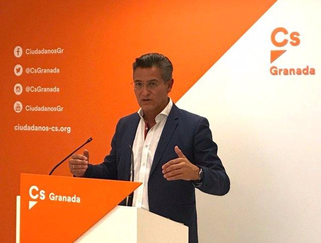El portavoz provincial de Ciudadanos, Luis Salvador