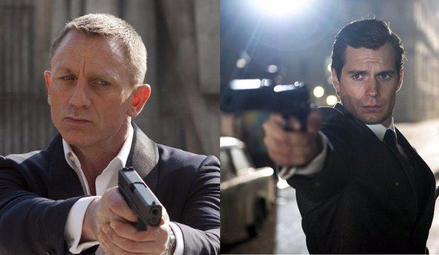 Daniel Craig y Henry Cavill