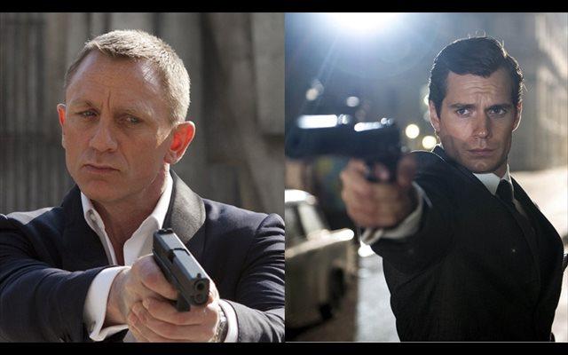 Así sería Henry Cavill como James Bond