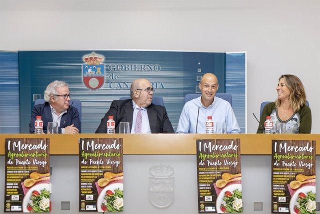 Presentación del I Mercado Agroalimentario de Puente Viesgo