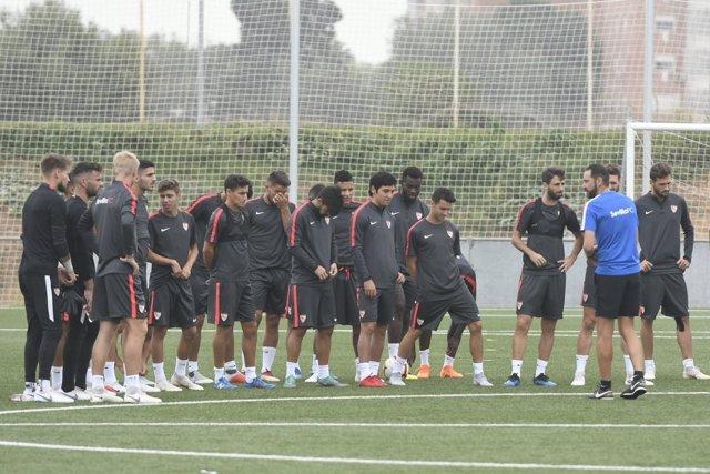 Sevilla entrenamiento