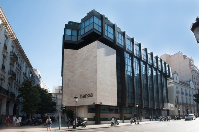 Sede social de Bankia, en Valencia.