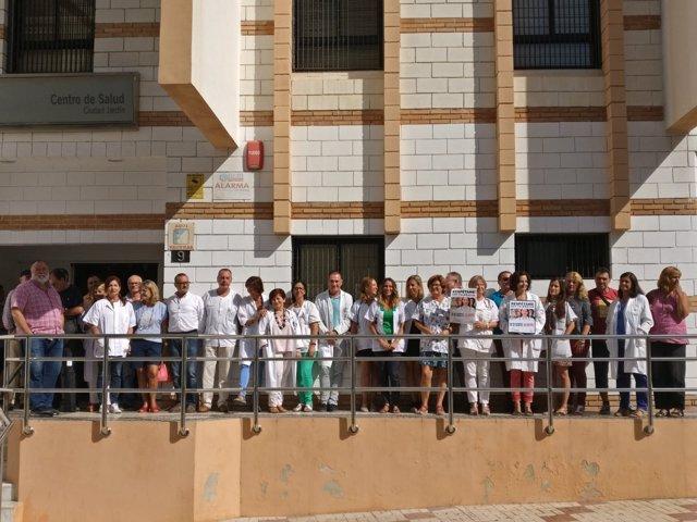 Médicos se concentrán en Ciudad Jardín