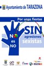 Campaña contra las agresiones sexistas durante las fiestas de Tarazona