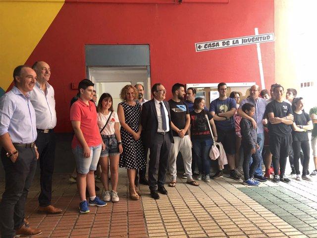 Inauguración de la Casa de la Juventud