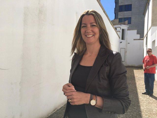 La alcaldesa de Lugo, Lara Méndez