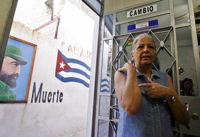 Disidente cubana Martha Beatriz Roque Cabello