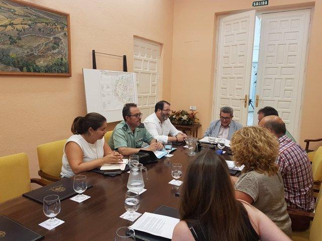 Reunión en la Subdelegación