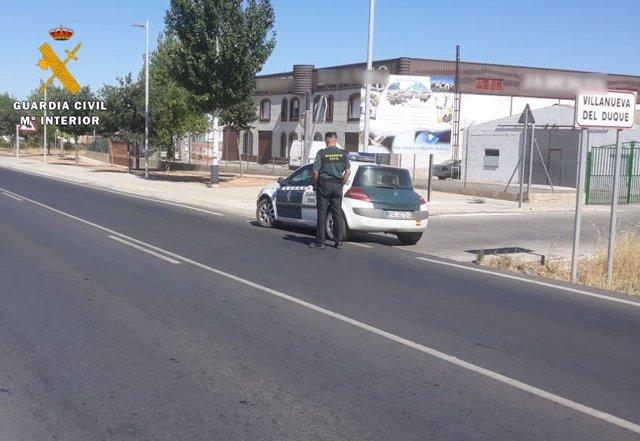 Agente de la Guardia Civil en Villanueva del Duque
