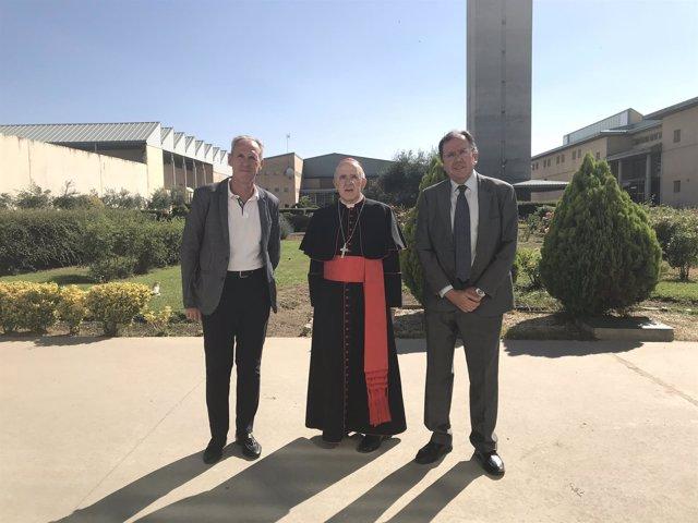 El arzobispo de Madrid, Carlos Osoro, visita la cárcel de Soto del Real