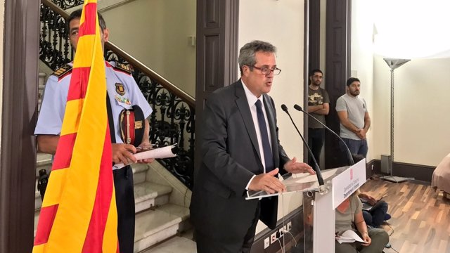 El conseller d'Interior, Joaquim Forn.