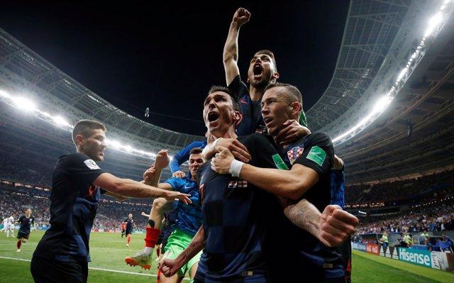 Croacia se mete en la final del Mundial con gol de Mandzukic