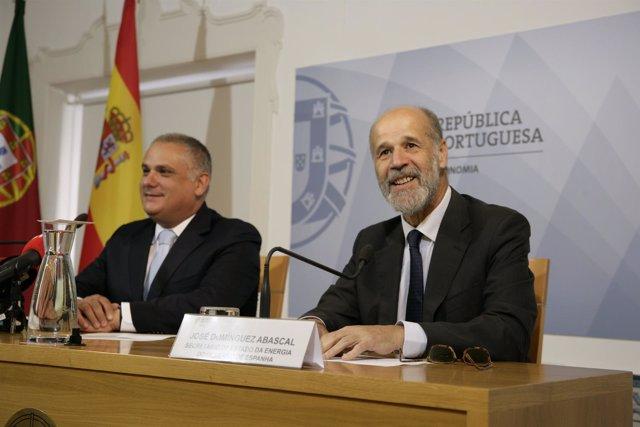 Jorge Seguro Sanches y José Domínguez Abascal