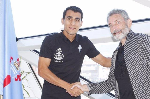 Júnior Alonso, nuevo jugador del RC Celta de Vigo