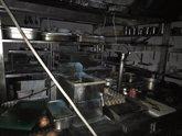 """Foto: 'Entrepuentes' espera abrir """"lo antes posible"""" tras el incendio que ha afectado sobre todo a la su cocina"""