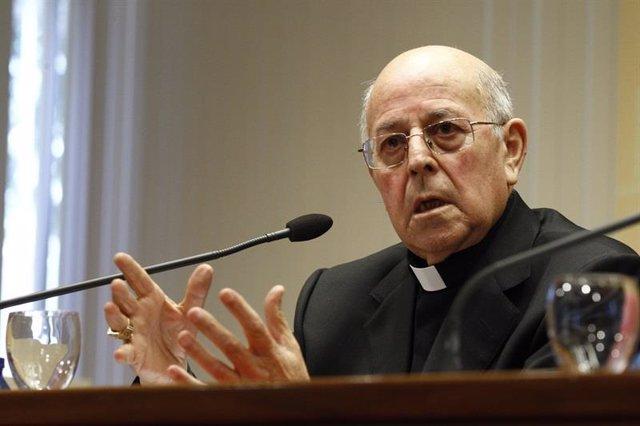 El presidente de la Conferencia Episcopal Española, el cardenal y arzobisp