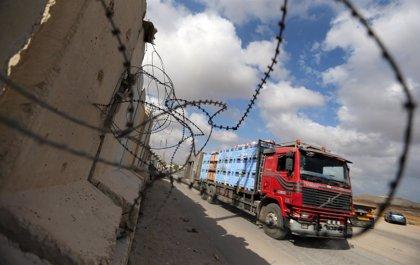 Israel permite de nuevo la entrada de alimentos y otros bienes comerciales a Gaza