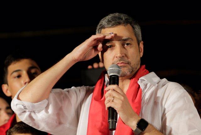 El presidente electo de Paraguay, Mario Abdo Benítez