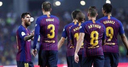 """El primer discurso del Messi capitán: """"Haremos todo para que la Champions vuelva al Camp Nou"""""""