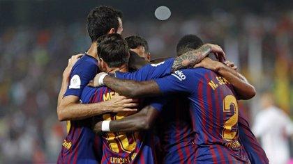 El Barça vence al Boca Juniors en el Trofeo Joan Gamper