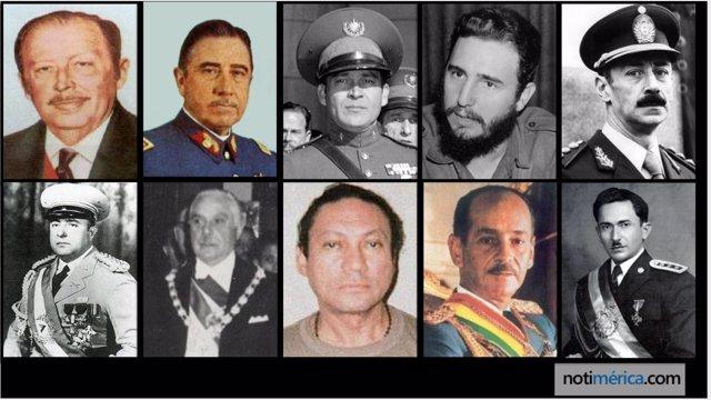 10 Dictadores De Iberoamérica