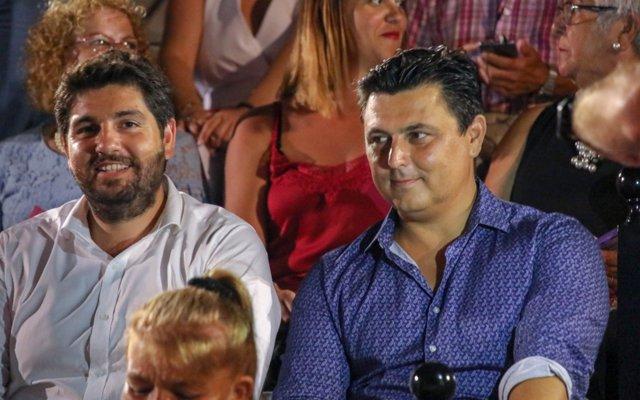 López Miras asiste al Festival Internacional de Teatro, Música y Danza de San Javier