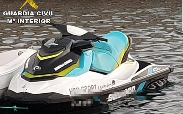 Denuncian a una empresa de alquiler de motos de agua en Lanzarote