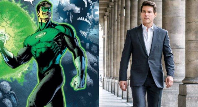 Tom Cruise podría ser Linterna Verde, pero bajo una condición