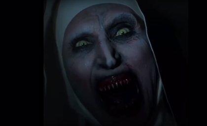 VÍDEO: El clip de La monja tan terrorífico que YouTube tuvo que eliminar
