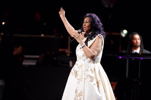 Aretha Franklin/Getty