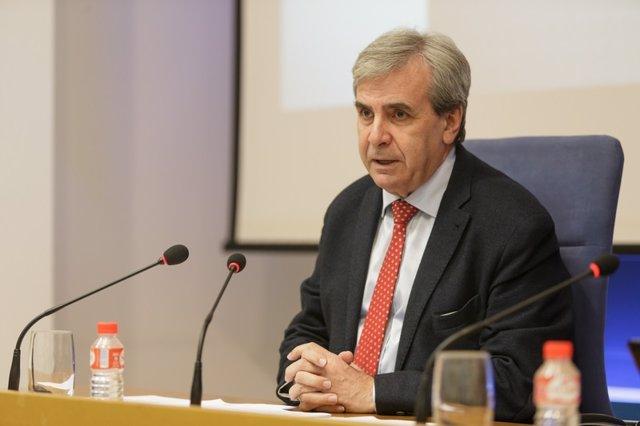 El consejero de Presidencia y Justicia, Rafael de la Sierra