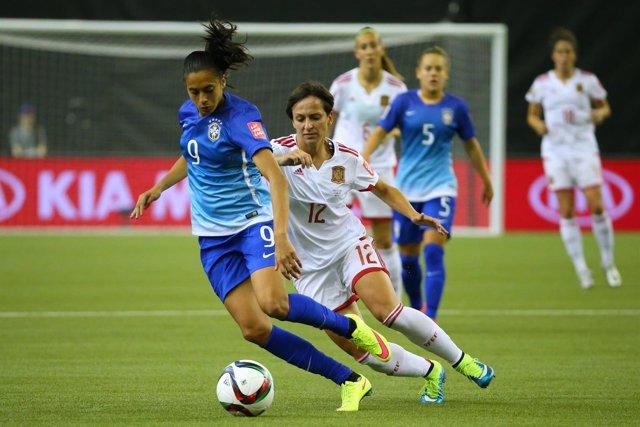 La selección española de fútbol femenino en el Mundial de Canadá
