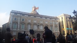 Banderes de Generalitat i Ajuntament de Barcelona onejaran a mitja asta pel 17A (Europa Press - Archivo)