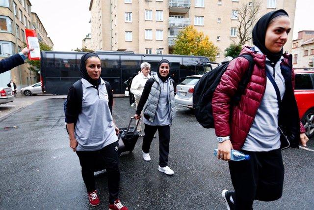 Selección femenina de fútbol de Irán en Gotemburgo