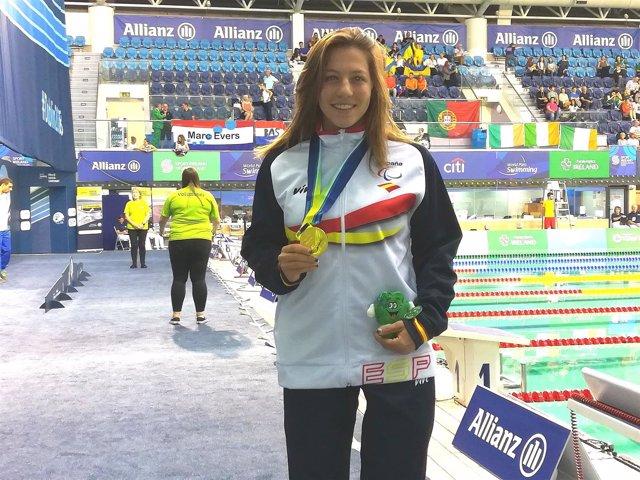 Nuria Marqués lidera otra jornada de medallas españolas en el Europeo de natació