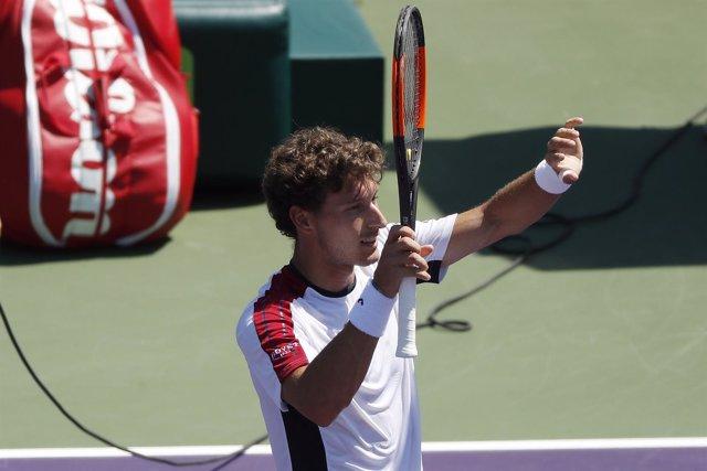 El tenista asturiano Pablo Carreño