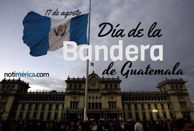 DÍA DE LA BANDERA DE GUATEMALA