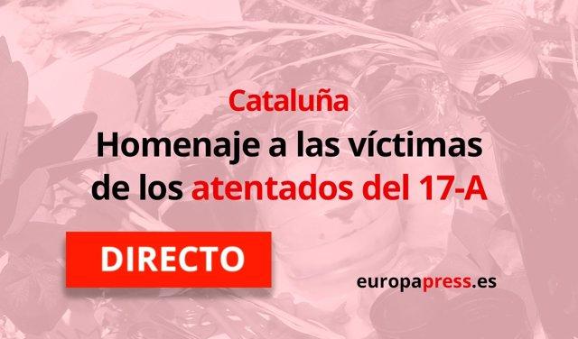 Aniversario de los atentados de Cataluña