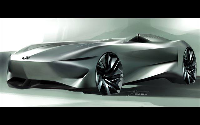 Infiniti presentará en Pebble Beach (Estados Unidos) el 'concept' electrificado Prototype 10