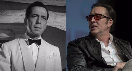 Nicolas Cage se inspiró en Humphrey Bogart para interpretar a Spider-Man