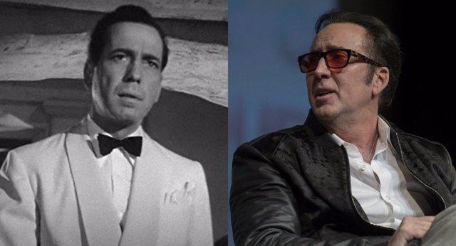 Nicolas Cage se inspira en Humphrey Bogart