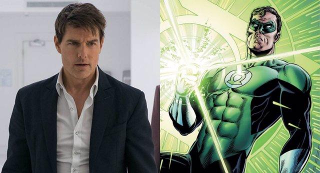 Tom Cruise como Linterna Verde