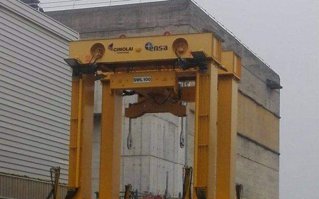 El primero de cinco contenedores con el combustible gastado de Garoña comenzará a cargarse dentro de un año